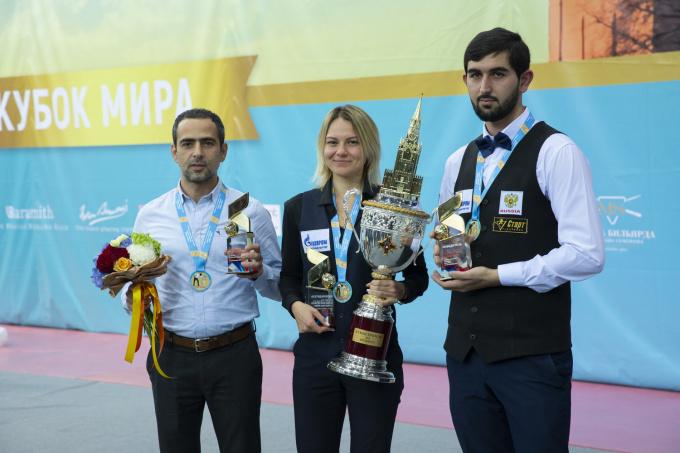 Миронова, Мелконян, Абрамов – Победители «Кубка Кремля»!